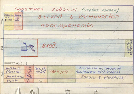Libro De Registro Voskhod 2 01