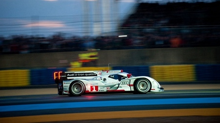 Pole en las 24 horas de Le Mans para el Audi híbrido