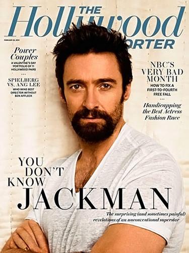 Hugh Jackman y su perilla protagonizan la portada The Hollywood Reporter