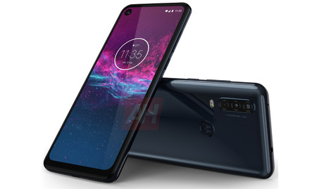 Motorola One Action Render Gris