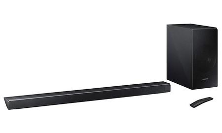 Nada para mejorar el sonido de tu TV plana como una barra como la Samsung HW-N550, hoy rebajada en Amazon a 254,99 euros