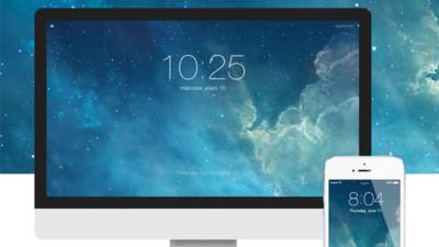 De la pantalla de bloqueo de iOS 7 al salvapantallas de tu Mac