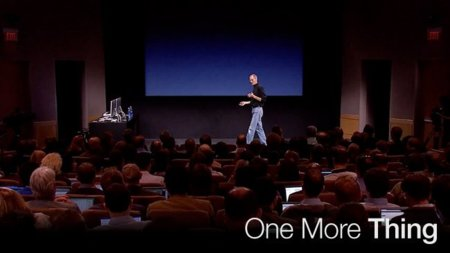 One more thing... (semana del 08/08/2011)