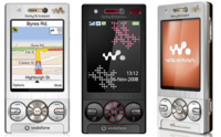 Los precios del exclusivo Sony Ericsson W715 de Vodafone