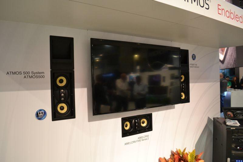 SpeakerCraft nos trae altavoces Dolby Atmos que se ocultan tras las paredes