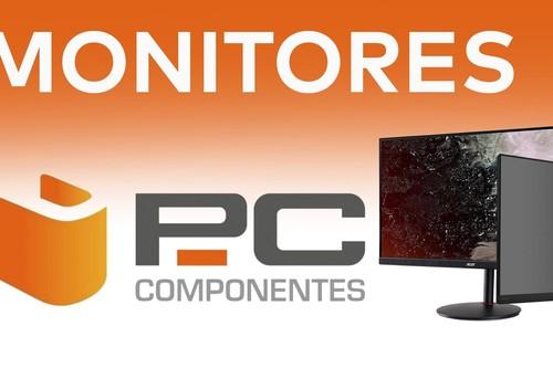 """Para teletrabajar y para """"telejugar"""": 9 monitores ASUS; Samsung, LG, Viewsonic, HP o MSI rebajados en PcComponentes"""