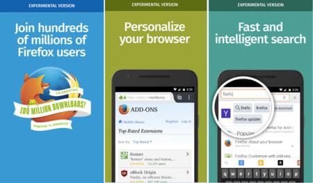 Firefox Aurora, la edición para desarrolladores del navegador llega a Google Play