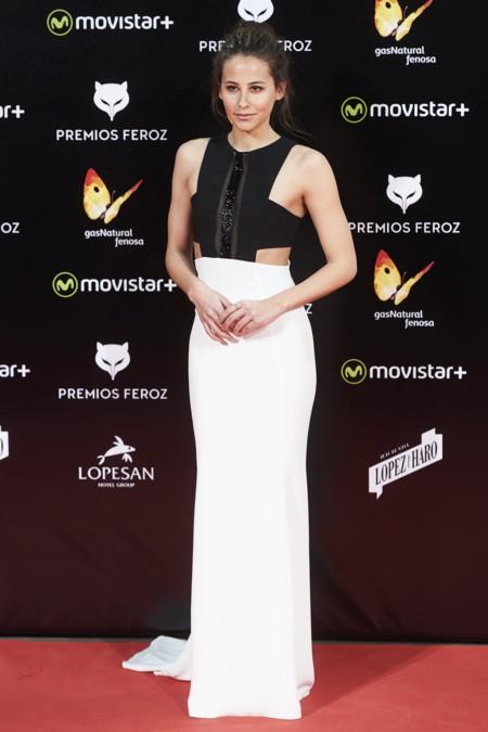 Mejor Vestidas Alfombra Roja Premios Feroz 2016 2
