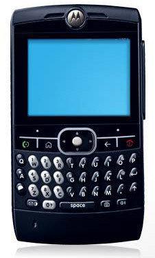 Motorola Q en negro