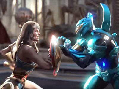 Wonder Woman y Blue Beetle frente a frente en el nuevo tráiler de Injustice 2