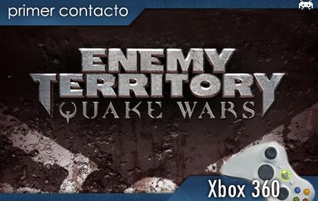 'Enemy Territory: Quake Wars', primer contacto