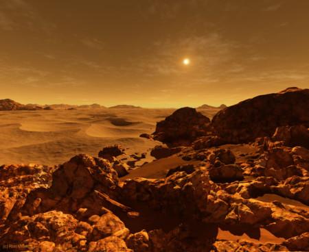 04 Sun Seen From Mars