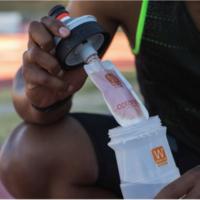 Double Use System: cambia entre bebida isotónica y agua sin cambiar de botella