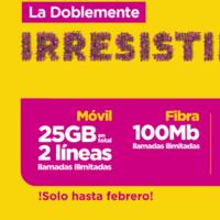 Nueva tarifa convergente de Jazztel: dos líneas móviles con 25GB y hasta 600Mb de fibra