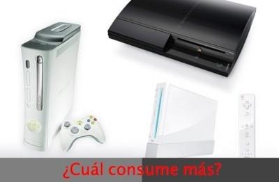 El consumo de las consolas: Wii, Xbox 360 y Playstation 3