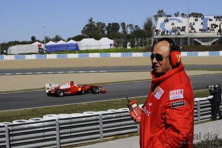 La Fórmula Uno siente la muerte del presidente de Santander