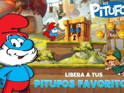 Los Pitufos vuelven a Android de la mano de Ubisoft con su primer juego de plataformas