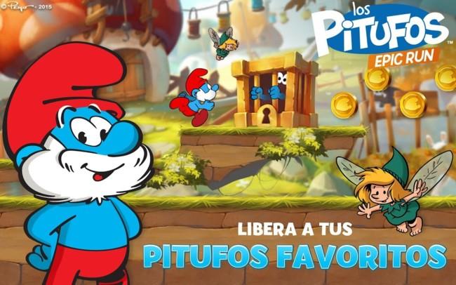 Los Pitufos Epic Run