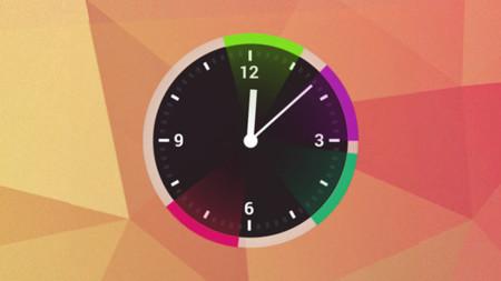 12Hours para Android, un widget de reloj análogico que nos marca con colores los eventos del día