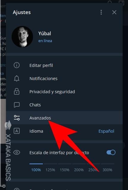 Avanzados Telegram