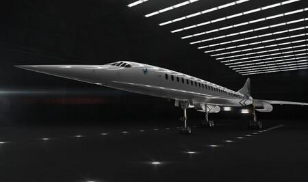 Boom Supersonic Avion Superrapido