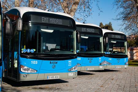Emt Madrid Autobuses