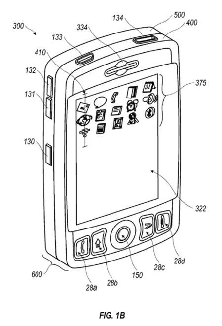Blackberry táctil