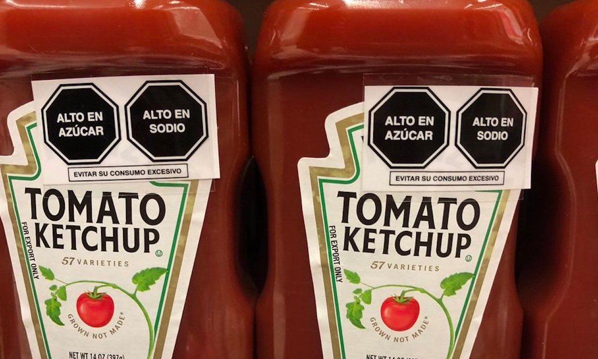 Nuevo etiquetado entrará en vigor en octubre. Sancionarán a empresas de alimentos en México que no cumplan hasta diciembre