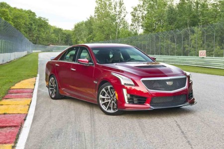 Cadillac CTS-V, llega a México el modelo más potente de la marca premium