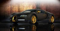 Bugatti Veyron Linea Vincerò d'Oro, otra exageración de Mansory