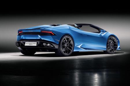 Lamborghini Huracain Spyder Lp 610 4 Rear