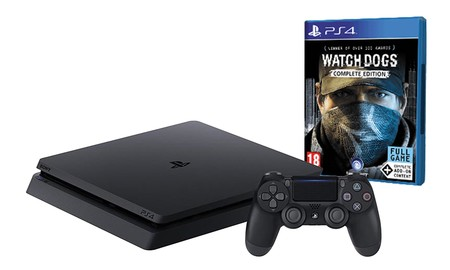En eBay, tienes la PS4 Slim de 500 GB con Watch Dogs Complete Edition por 249,95 euros