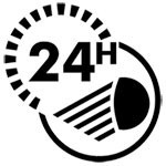 Luces 24 horas