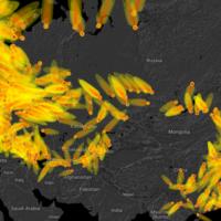 Este mapa muestra qué hubiera pasado si se hubiese desatado la guerra nuclear. Y asusta