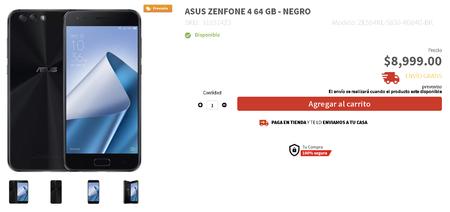 Asus Zenfone 4 Preventa Elektra Precio Mexico