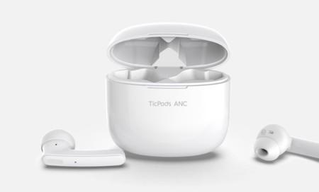 Nuevos auriculares inalámbricos TicPods ANC de Mobvoi con cancelación activa de ruido por 89,99 euros