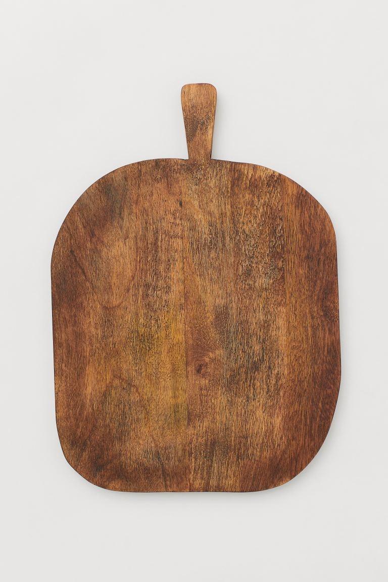 Mango wood chopping board Ancho 30 cm. Largo 42.7 cm.