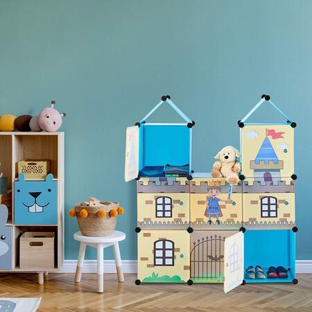Orden en la habitación de los niños: encontramos lo mejor para organizarla