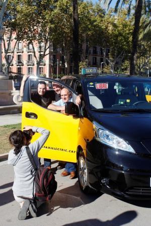 Expoelectric Formula E Nissan E V200 Taxi