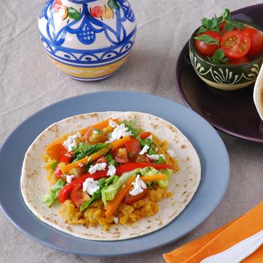 Tacos de lentejas al curry: receta vegetariana para seguir disfrutando de las legumbres