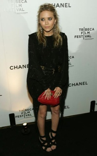 Mary-Kate Olsen con un little black dress perfecta