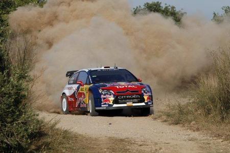 Rally de Catalunya 2010: Sébastien Loeb primer líder. Dani Sordo pierde terreno
