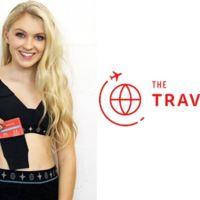 Mujer, guarda discretamente tus cosas al viajar en un Travel-Bra