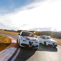 Alfa Romeo Stelvio y Giulia Racing: homenaje al equipo de Fórmula 1 para el Salón de Ginebra