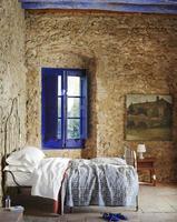 Precioso entorno rústico y mediterráneo con toques añiles
