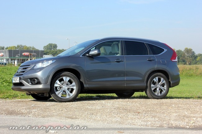 Honda CR-V, vista lateral