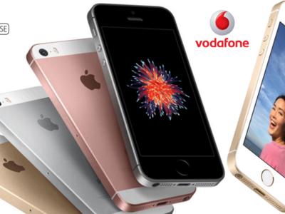 Precios iPhone SE con Vodafone