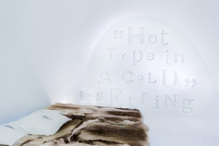Hot Type in a cold Setting