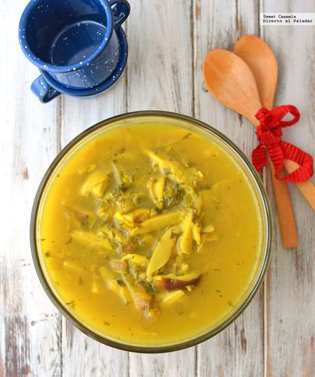 Sopa Hongos