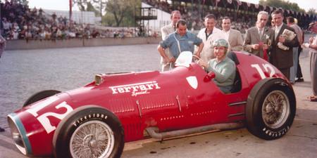 Ascari Ferrari F1 1954